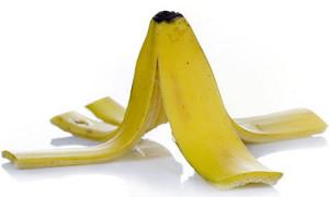Vỏ chuối không chỉ giúp làm trắng răng.