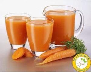 làm đẹp tự nhiên với cà rốt