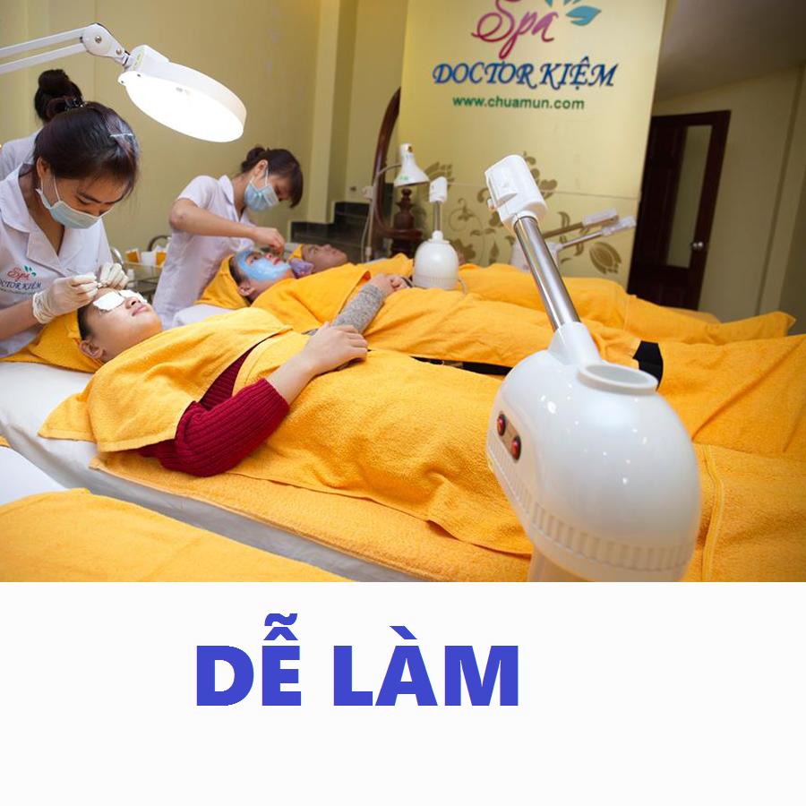 Dạy Nghề Spa Phun Xăm, Trị liệu Công nghệ cao Cầm tay chỉ việc số 1 tại Hà Nội