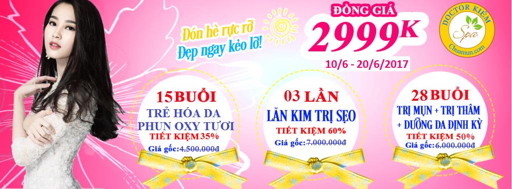 Doctor Kiem Spa Khuyen Mãi Tháng 6