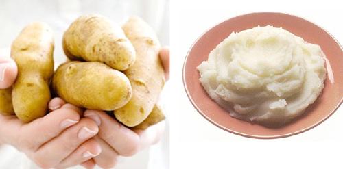 Dùng khoai tây trị mụn có nên hay không?