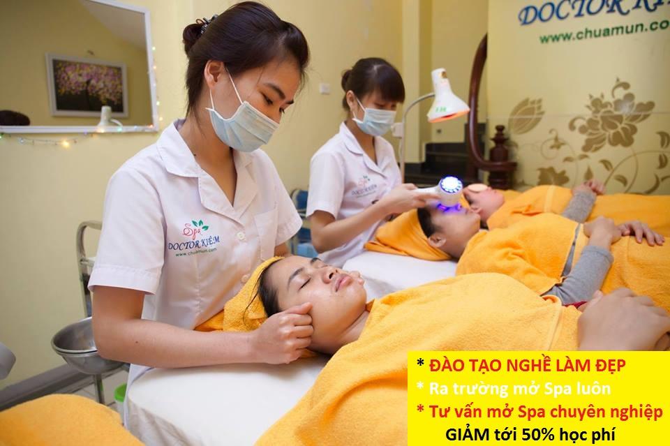 Đào tạo nghề Spa tại Doctor Kiệm